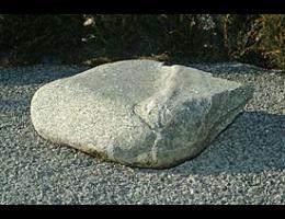 Findling 198 - Gestaltungsstein,Solitärfindlinge für Gärten
