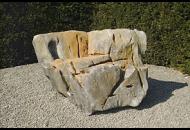 Findling 662 - Solitärfindlinge für Gärten,Raritäten,Showstone,Gestaltungsstein
