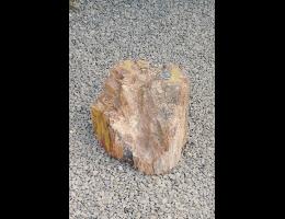Findling 710 - Gestaltungsstein,Versteinertes Holz