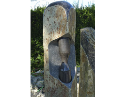 Findling 962 - Solitärfindlinge für Gärten,Grabsteine,Skulpturen aus Stein,Kunstform