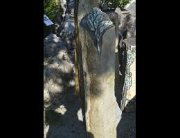 Findling 963 - Solitärfindlinge für Gärten,Grabsteine,Kunstform,Skulpturen aus Stein