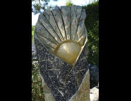 Findling 960 - Solitärfindlinge für Gärten,Grabsteine,Kunstform,Skulpturen aus Stein