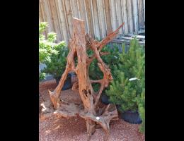 Findling 1043 - Holzskulpturen