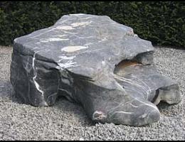 Findling 615 - Solitärfindlinge für Gärten,Raritäten,Quellstein,Wasserfindling