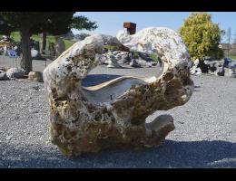 Findling 877 - Showstone,Showstone,Skulpturen aus Stein,Fabelstein