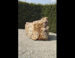 Findling 678 - Versteinertes Holz,Raritäten,Showstone,Gestaltungsstein