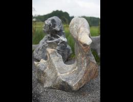 Findling 724 - Skulpturen aus Stein,Steintier,Fabelstein