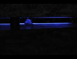 Findling 419 - Wasserfindling,Wasserfindling mit Licht