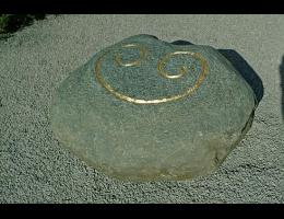 Findling 84 - Gestaltungsstein,Kunst am Stein,Symbolfindling