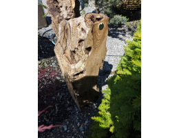 Findling 1032 - Holzskulpturen,Kunst mit Holz,Olivensockel