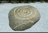 Findling 150 - Gestaltungsstein,Kunst am Stein,Symbolfindling