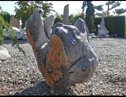 Findling 1054 - Solitärfindlinge für Gärten,Steintier