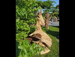 Findling 1039 - Holzskulpturen,Kunst mit Holz
