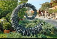 Findling 529 - Kunst am Stein,Kunstform,Skulpturen aus Stein