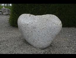Findling 915 - Skulpturen aus Stein,Grabsteine,Raritäten,Skulpturen aus Stein