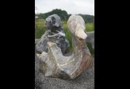 Findling 724 - Fabelstein,Skulpturen aus Stein,Steintier