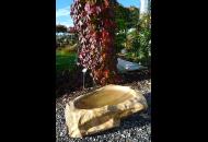 Findling 867 - Vogelbad,Vogelbad,Wasserfindling