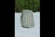 Findling 158 - Gestaltungsstein,Kunst am Stein,Symbolfindling