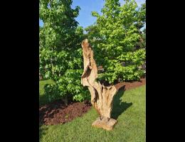 Findling 1037 - Holzskulpturen,Kunst mit Holz