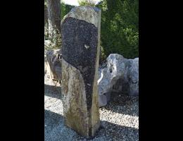 Solitärfindlinge für Gärten,Skulpturen aus Stein,Kunstform,Grabsteine - Findling 958
