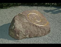 Gestaltungsstein,Symbolfindling,Kunst am Stein - Findling 83
