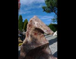 Findling 874 - Showstone,Skulpturen aus Stein,Steintier