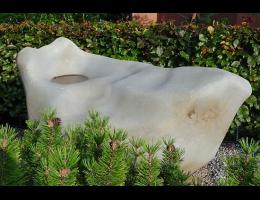 Gestaltungsstein,Raritäten,Vogelbad,Wasserfindling - Findling 572