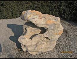 Findling 506 - Solitärfindlinge für Gärten,Wasserfindling,Quellstein,Raritäten