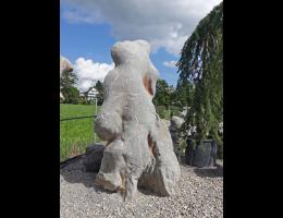 Solitärfindlinge für Gärten,Steintier - Findling 1090