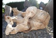 Findling 1105 - Skulpturen aus Stein,Wasserfindling