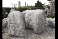 Findling 1124 - Raritäten,Showstone,Solitärfindlinge für Gärten