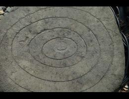Findling 561 - Kunst am Stein,Symbolfindling
