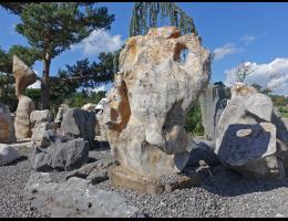Solitärfindlinge für Gärten,Steintier - Findling 1055