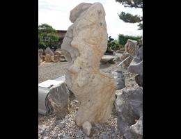 Findling 1088 - Showstone,Skulpturen aus Stein,Solitärfindlinge für Gärten