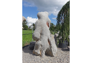 Findling 1090 - Solitärfindlinge für Gärten,Steintier