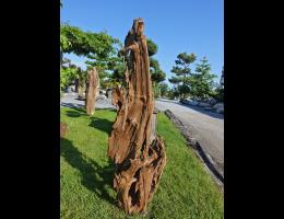 Findling 1041 - Holzskulpturen