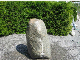 Findling 394 - Quellstein,Wasserfindling